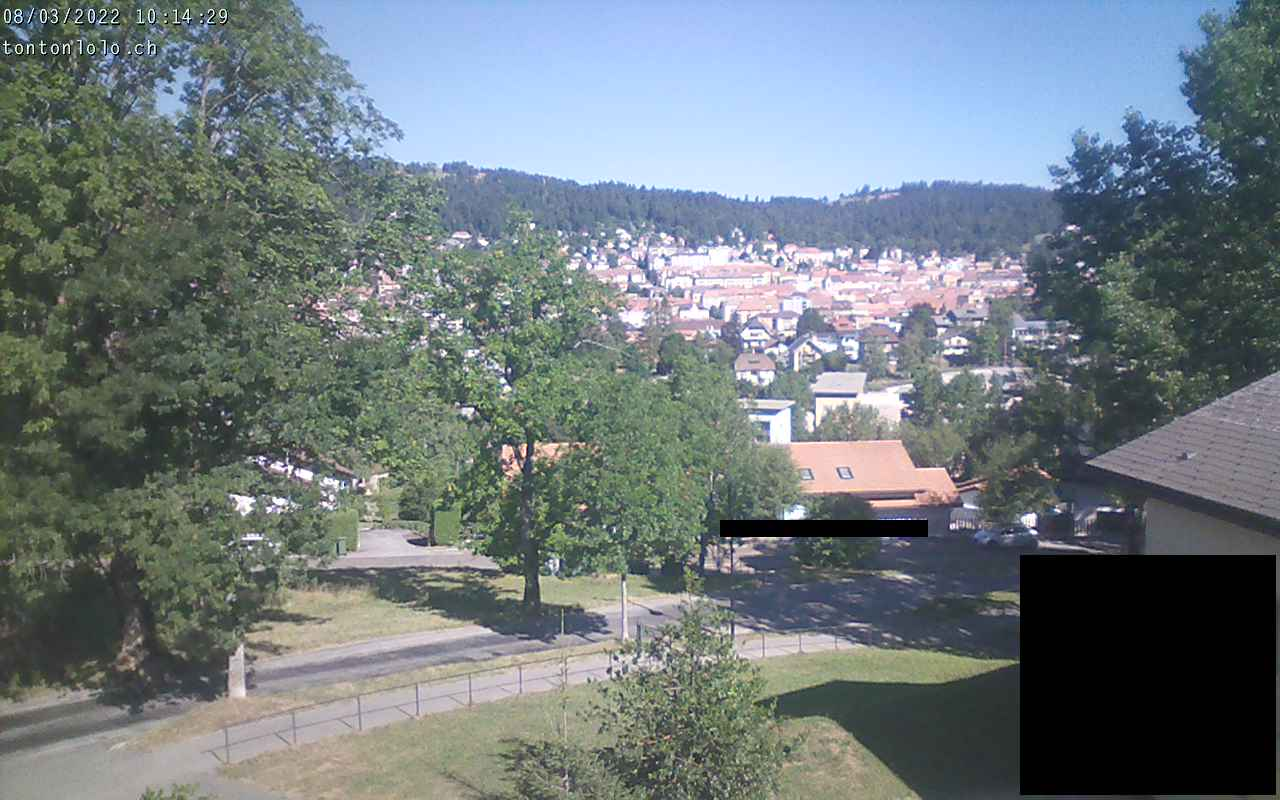 Webcam La Chaux-de-Fonds